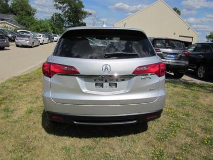 2013 ACURA RDX BASE - SILVER ON BLACK 4