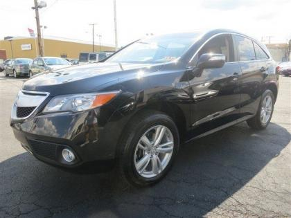 2013 ACURA RDX BASE - BLACK ON BLAC
