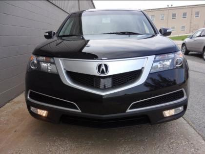 2013 ACURA MDX ADVANCE - BLACK ON BLACK 1