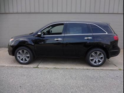 2013 ACURA MDX ADVANCE - BLACK ON BLACK 2