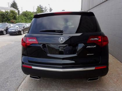 2013 ACURA MDX ADVANCE - BLACK ON BLACK 4