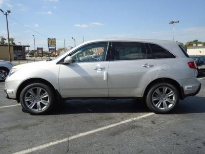 2017 Acura Mdx Advance Silver On Black 2