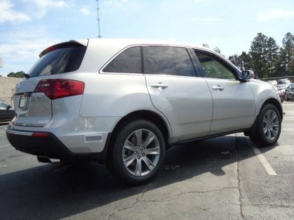 2013 ACURA MDX ADVANCE - SILVER ON BLACK 3