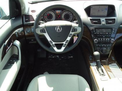 2013 ACURA MDX ADVANCE - SILVER ON BLACK 5