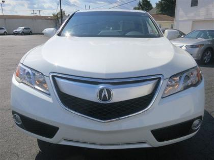 2013 ACURA RDX BASE - WHITE ON BEIGE 2