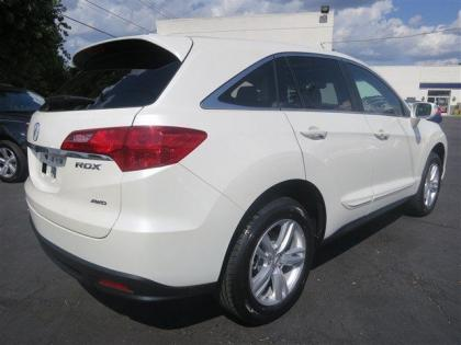 2013 ACURA RDX BASE - WHITE ON BEIGE 3