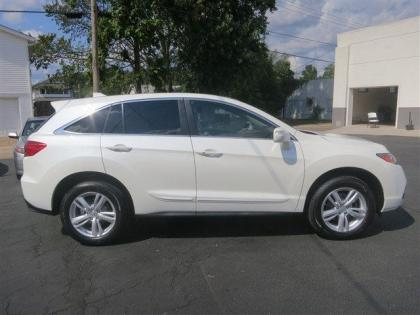 2013 ACURA RDX BASE - WHITE ON BEIGE 4