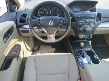 2013 ACURA RDX BASE - WHITE ON BEIGE 5