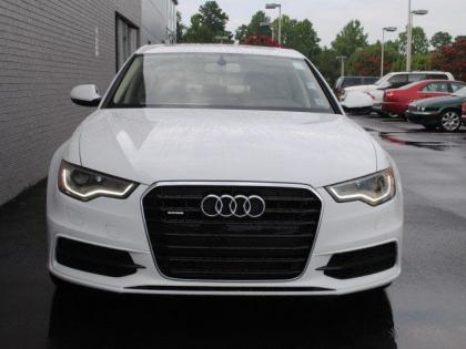 2013 AUDI A6 3.0T PREMIUM - WHITE ON BEIGE 2