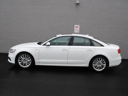 2013 AUDI A6 3.0T PREMIUM - WHITE ON BEIGE 3