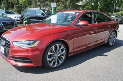 2013 AUDI A6 3.0T PREMIUM - RED ON BLACK 1