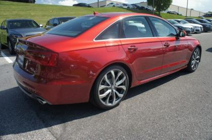 2013 AUDI A6 3.0T PREMIUM - RED ON BLACK 3