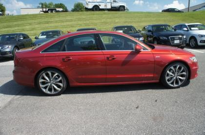2013 AUDI A6 3.0T PREMIUM - RED ON BLACK 4