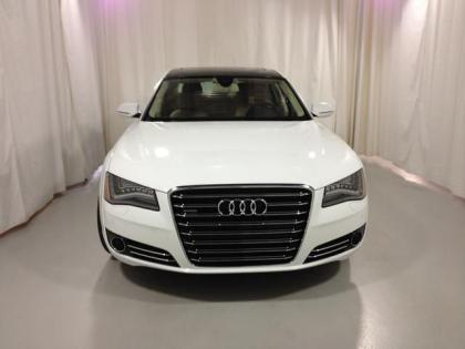 2013 AUDI A8 L - WHITE ON BEIGE 2