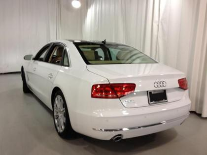 2013 AUDI A8 L - WHITE ON BEIGE 3