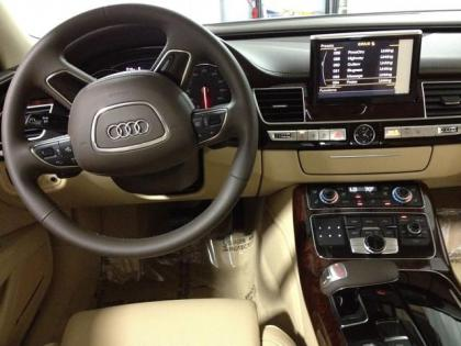 2013 AUDI A8 L - WHITE ON BEIGE 4