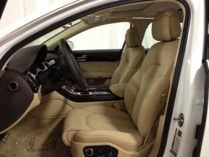 2013 AUDI A8 L - WHITE ON BEIGE 5