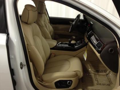 2013 AUDI A8 L - WHITE ON BEIGE 6