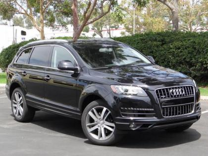 Export New 2013 Audi Q7 S Line Prestige Black On Black