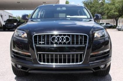 2013 AUDI Q7 TDI PREMIUM - BLACK ON BLACK 4