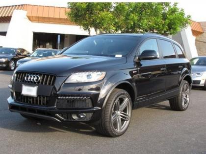 2013 AUDI Q7 S LINE PRESTIGE - BLACK ON BLACK 2