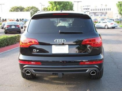 2013 AUDI Q7 S LINE PRESTIGE - BLACK ON BLACK 4