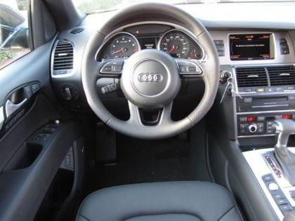 2013 AUDI Q7 S LINE PRESTIGE - BLACK ON BLACK 5