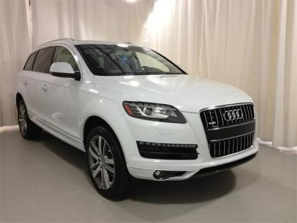 2013 AUDI Q7 3.0 TDI - WHITE ON BEIGE