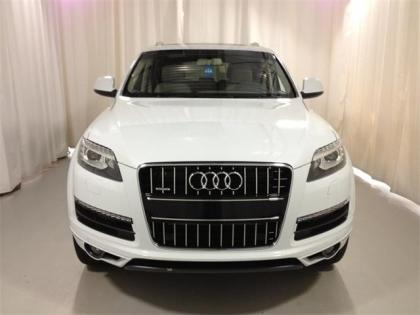 2013 AUDI Q7 3.0 TDI - WHITE ON BEIGE 2