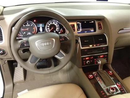 2013 AUDI Q7 3.0 TDI - WHITE ON BEIGE 4