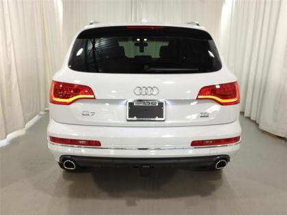 2013 AUDI Q7 3.0 TDI - WHITE ON BEIGE 7