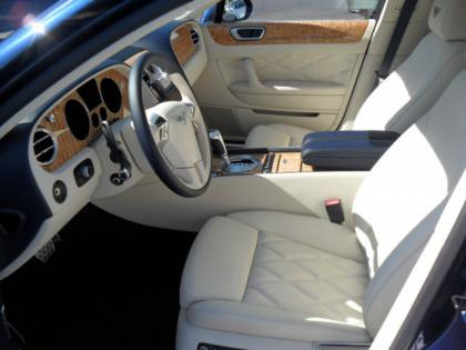 2013 BENTLEY CONTINENTAL FLYING SPUR - BLUE ON WHITE 4