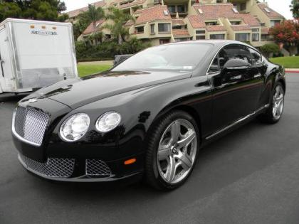 2013 BENTLEY CONTINENTAL GT - BLACK ON BLACK