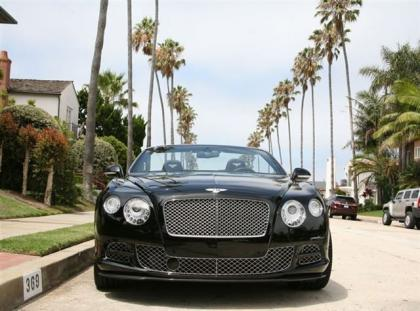 2013 BENTLEY CONTINENTAL GTC - BLACK ON BLACK 4