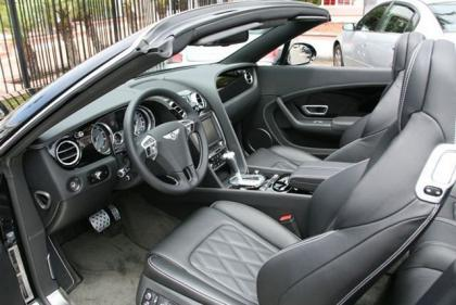 2013 BENTLEY CONTINENTAL GTC - BLACK ON BLACK 5