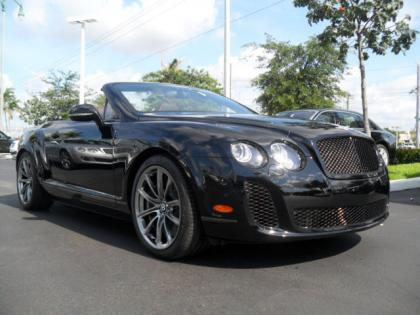 2013 BENTLEY CONTINENTAL SUPERSPORTS ISR - BLACK ON BLACK 1