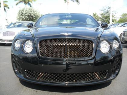 2013 BENTLEY CONTINENTAL SUPERSPORTS ISR - BLACK ON BLACK 2