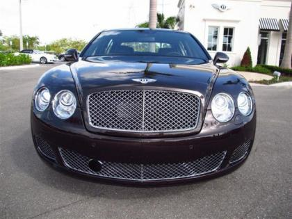 2013 BENTLEY CONTINENTAL FLYING SPUR - BLACK ON BROWN 2