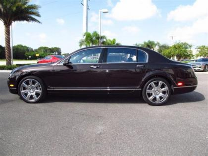 2013 BENTLEY CONTINENTAL FLYING SPUR - BLACK ON BROWN 3