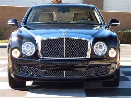 2013 BENTLEY MULSANNE BASE - BLACK ON BEIGE 2