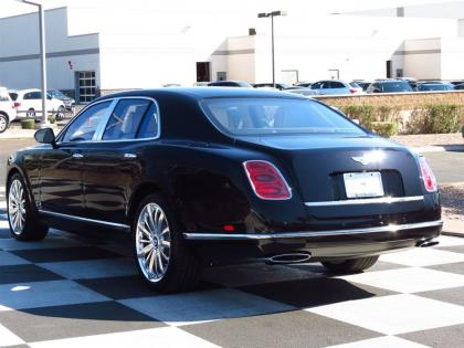2013 BENTLEY MULSANNE BASE - BLACK ON BEIGE 4