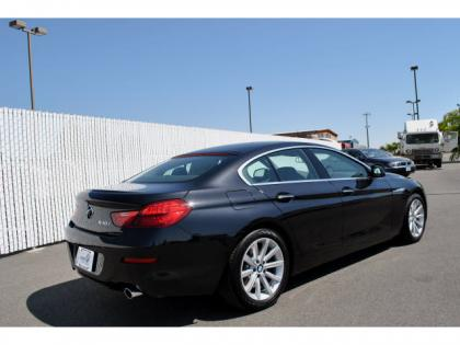 2013 BMW 640 I  GRAN COUPE - BLACK ON BLACK 4