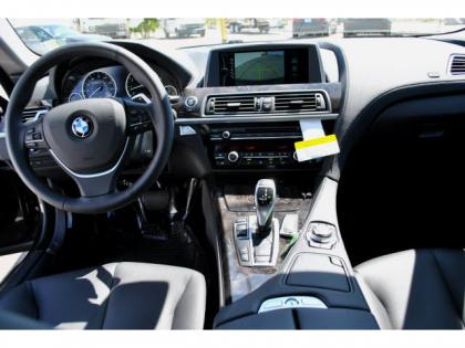 2013 BMW 640 I  GRAN COUPE - BLACK ON BLACK 5