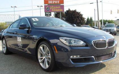 2013 BMW 640 GRAN COUPE - BLUE ON ORANGE
