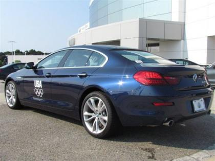 2013 BMW 640 GRAN COUPE - BLUE ON ORANGE 2