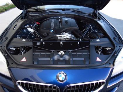 2013 BMW 640 GRAN COUPE - BLUE ON WHITE 7