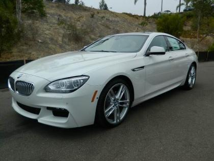 2013 BMW 650 I GRAN COUPE XDRIVE - WHITE ON BLACK