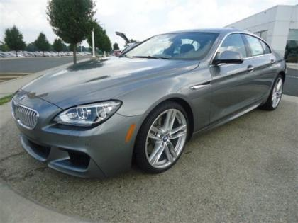 2013 BMW 650 I GRAN COUPE XDRIVE - GREY ON BLACK