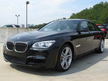 2013 BMW 750 LI - BLACK ON BLACK 1