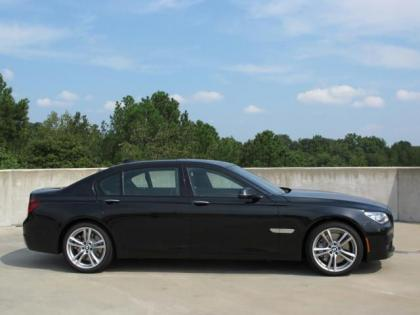 2013 BMW 750 LI - BLACK ON BLACK 2